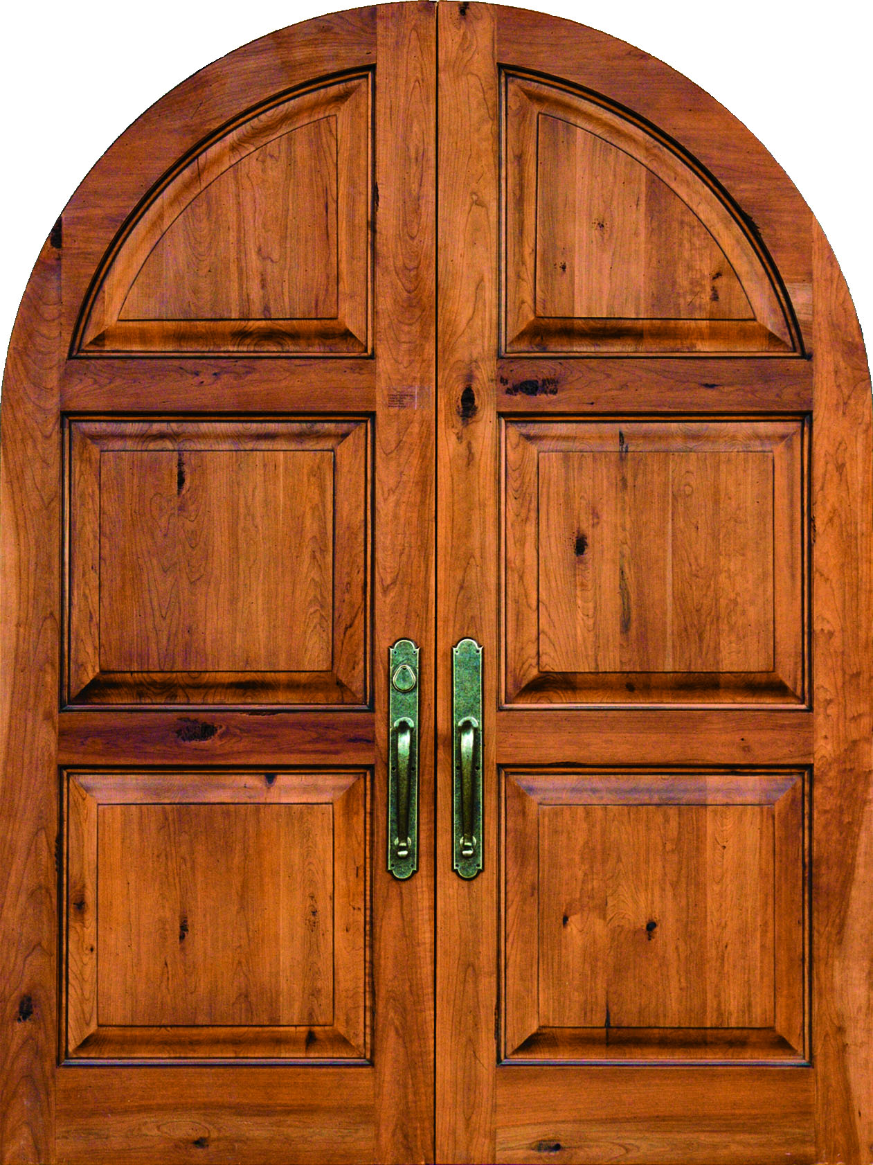 1682 #B05215 Arch Top Doors And Arched Door Frames Sun Mountain Door image Arched Wood Entry Doors 40831261