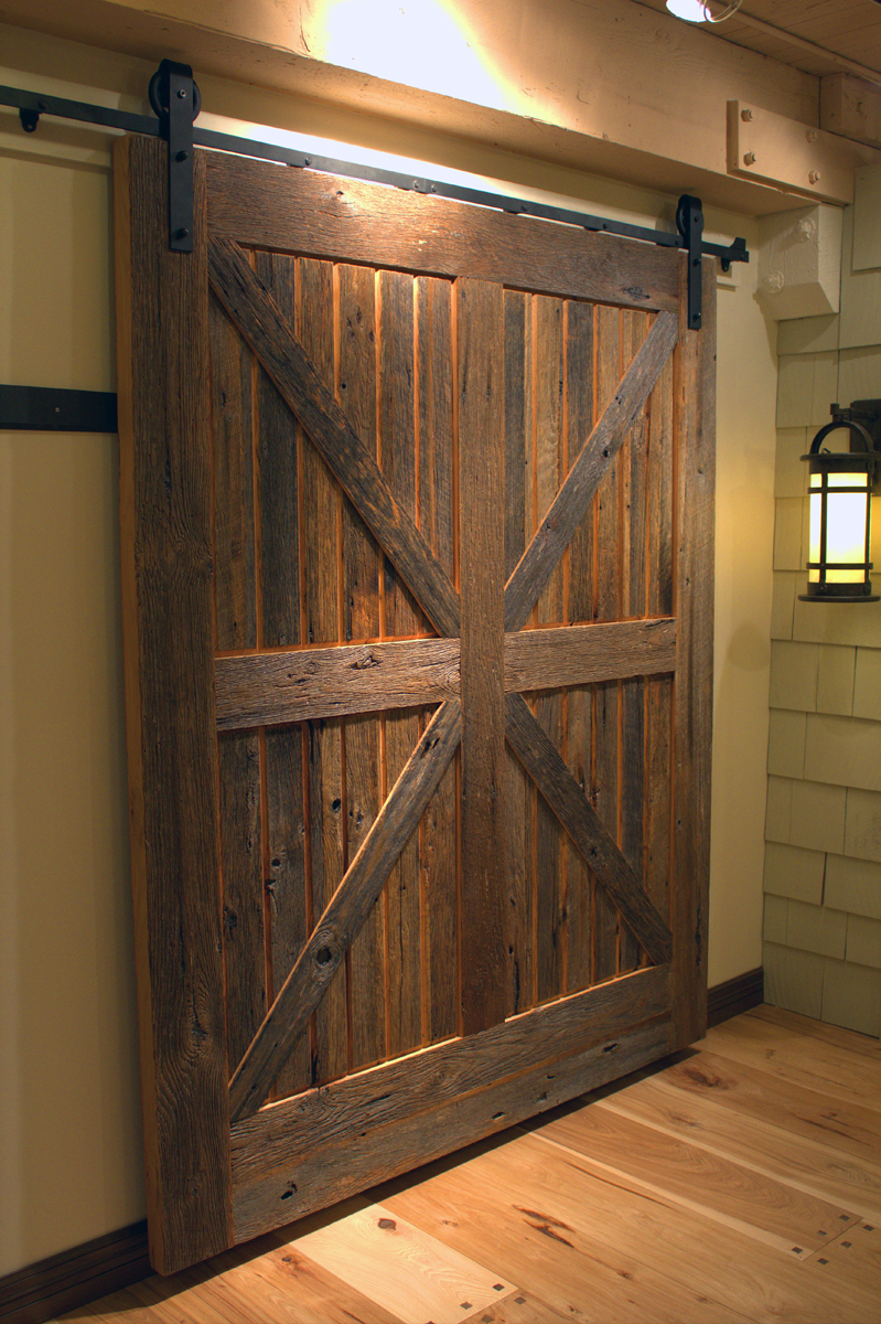 sliding barn doors don 39 t have to be rustic sun mountain door. Black Bedroom Furniture Sets. Home Design Ideas
