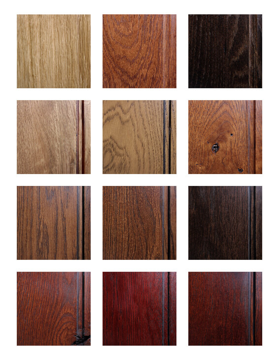 Wood Finishes on White Oak